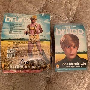 Bruno Halloween Costume w/ Wig